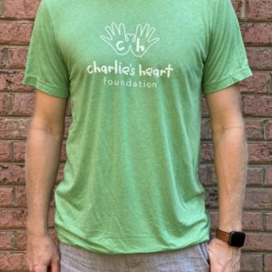 Charlies Heart Adult T-Shirt