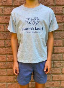Charlie's Heart Youth Light Blue T-Shirt