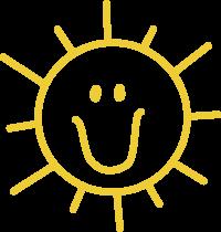 Charlies Heart Spread Sunshine Logo