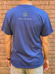 Charlies Heart Dark Blue T-Shirt