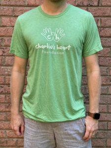 Charlies Heart Adult T-Shirt